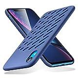 ESR Hülle für iPhone XR - Geschmeidige Silikon Handyhülle für das iPhone 6,1 Zoll - Marineblau