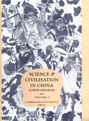 Science and Civilisation in China: Volume 1, Introductory Orientations: Introductory Orientations Vol 1