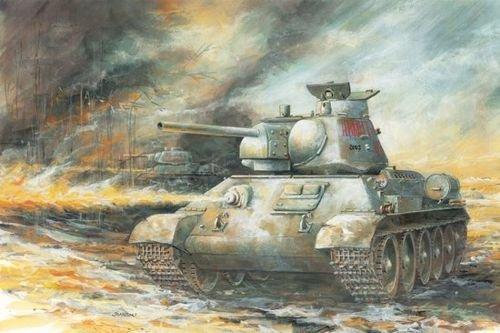 Dragon - Maqueta de Tanque Escala 1:35 (D6614)