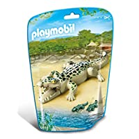 Playmobil 6644 City Life Alligator with Babies(Multi-color)