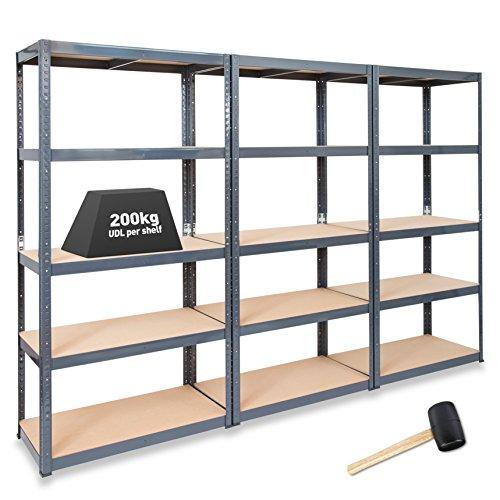 3-x-storalexr-600-mm-tief-regale-fuer-garagen-regalsysteme-200-kg-regal-udl-gratis-hammer