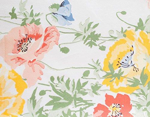 Toskana feine Bettwäsche bsm1ksst Italienisches Blossom-Bettlaken-Set, Floral/Multicolor, King (Blossom Floral Bettwäsche-set)