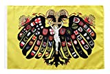 Flagge / Fahne Heiliges Römisches Reich Deutscher Nation Quaterionenadler + gratis Sticker, Flaggenfritze®