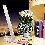 SOLMORE LED Schreibtischlampe Berühren Licht 180 Grad Kreativ Farbtemperatureinstellung Tischleuchte