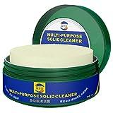 ZzZz Pasta Protettiva Sapone Detergente Sgrassa Pulisce Lucida Cappa Cucina Auto Forno Lavello Lavandino 100% biodegradabile 330g (Blu)