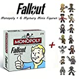 Fallout. Monopoly Collector's Edition (deutsch) + 6 Funko Mystery Minis Figur in Blindbox für Fallout. Monopoly Collector's Edition (deutsch) + 6 Funko Mystery Minis Figur in Blindbox