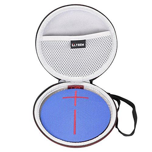 LTGEM EVA Hart Fall Reise Tragen Lagerung Tasche für Ultimate Ears UE ROLL/UE ROLL 2 Bluetooth Lautsprecher (Lagerung Leder Runde)