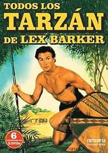 Todos Los Tarzán De Lex Barker (Incluye 6 Películas) [Import espagnol]