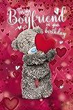 Me to You Tatty Teddy 3D Holographic Card - Boyfriend Birthday