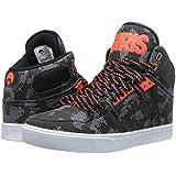 Osiris NYC 83 Vulc Grey Orange White Mens Hi Top Skate Trainers Shoes