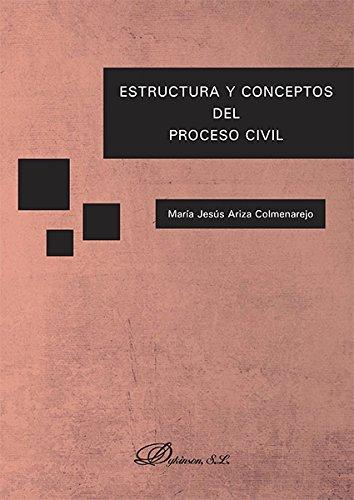 Estructura y conceptos del proceso civil por María Jesús Ariza Colmenarejo
