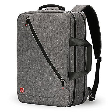 Nouveau sac à dos de 17 po Sac à dos pour ordinateur portable Sac à dos Sac à dos pour écolier / sac à main de travail