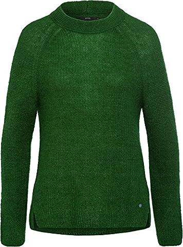 BRAX Damen Pullover BX_LEA Grün (Smaragd 39),