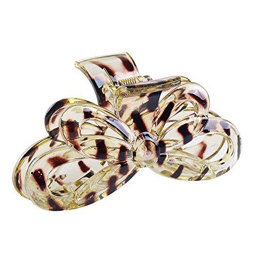 Gemini Mall® Femme Fille Grand Papillon Motif Plastique Pince à cheveux Pince Pince à cheveux Coiffe