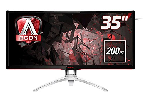 AOC Gaming AGON Series AG352QCX 35-Inch 2560 x 1080 Curved LCD Monitor - Black