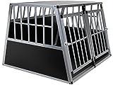 Jalano Doppel Hundetransportbox M Auto Gitterbox Hunde Alu Hundebox Kofferraum