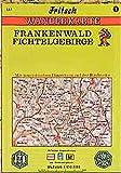 Fritsch Karten, Nr.1, Frankenwald, Fichtelgebirge (Fritsch Wanderkarten 1:100000) -