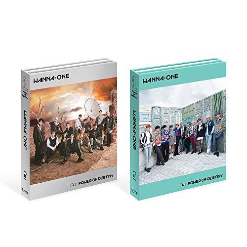 Preisvergleich Produktbild Stone Music Entertainment Wanna One – 111 = 1 Power of Destiny (zufällige Ver.) CD,  Fotobücher,  Aufkleber,  Fotokarte,  goldenes Ticket,  Gefaltetes Poster und zusätzliche Fotokartenset