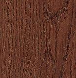 Klebefolie Holzdekor Möbelfolie Holz Eiche Roteiche 45 cm x 200 cm Designfolie Selbstklebende Folie mit zeitlosem Holz Dekor - Selbstklebefolie Dekorfolie