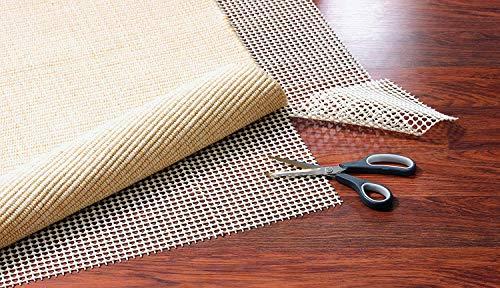 Kamaca Teppich-Gleitschutz Antirutsch-Matte Teppichunterlage kein Verrutschen mehr verhindert Faltenbildung universell einsetzbar individuell zuschneidbar (60x120 cm)