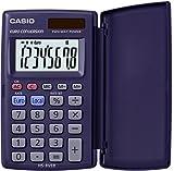 CASIO HS-8VER Taschenrechner 8-stellig mit 360° umschlagbarer Schutzklappe,...