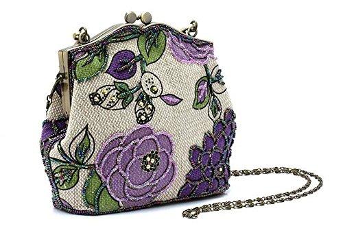 Shubb, Poschette giorno donna taglia unica, Purple (viola) - AB002 Purple