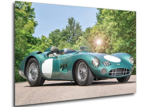 Instabuy Poster - Auto Vintage - Historic - Aston Martin - DBR1-1956 Manifesto 70x50