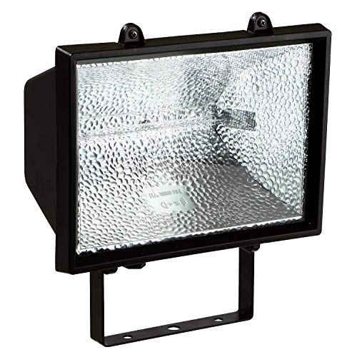 400w Fluter (as - Schwabe Halogenstrahler - 400 W Halogen-Fluter geeignet als Baustrahler / Arbeitsleuchte - Energieklasse C - Halogenspot inklusive Leuchtmittel - Leuchte für den Außenbereich - Schwarz I 44060)