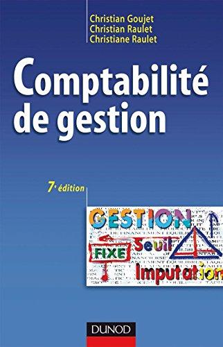 Comptabilité de gestion - 7ème édition - Manuel