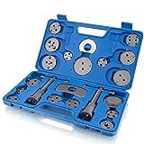 BITUXX® 22 TLG. universal Bremskolben Rückstell Set Kolbenrücksteller Rücksteller Kolben Bremse Werkzeug KFZ Auto PKW 22 Teilig