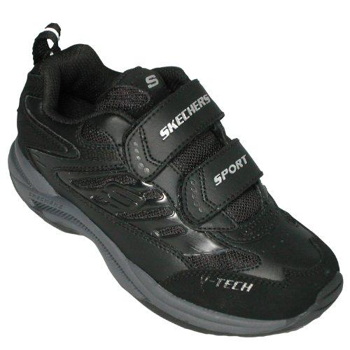 Skechers SK91103 - Baskets - Garçon Noir