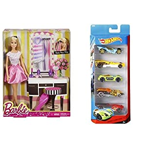 Barbie Doll and Playset, Multi Color & Barbie Career Doll – Chef Doll