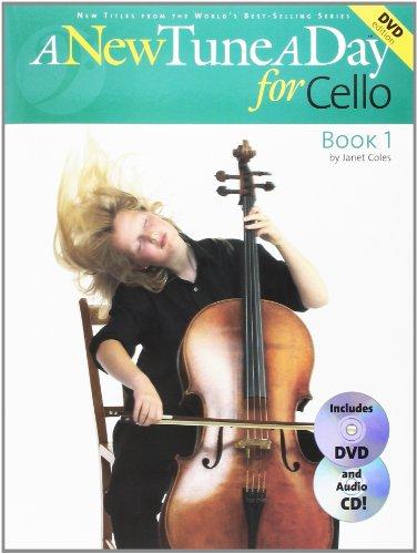 A New Tune A Day for Cello (New Tune a Day Book & CD + DVD) por Janet Coles