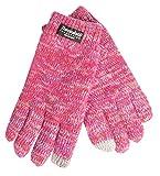 EEM Touchscreen Kinderhandschuh FELIX mit Thinsulate Thermofutter, 100% Baumwolle; Pinkmix, Größe M