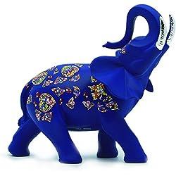 Nadal Figura Decorativa Elefante, Resina, 7.00x12.20x11.50 cm