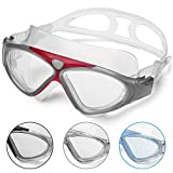 Swimming Goggles Adult Anti Fog No Leaking Clear Vision UV Protection Easy to