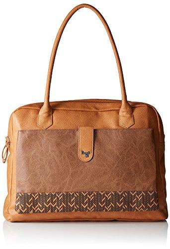 Baggit Women's Handbag (Mustard)