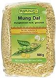 Rapunzel Mung Dal, Mungbohnen halb, geschält, 3er Pack (3 x 500 g)