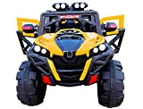 Toy House Metal Rocky SUV ATV Rechargeable Battery Operated Ride-on Swing Function Car