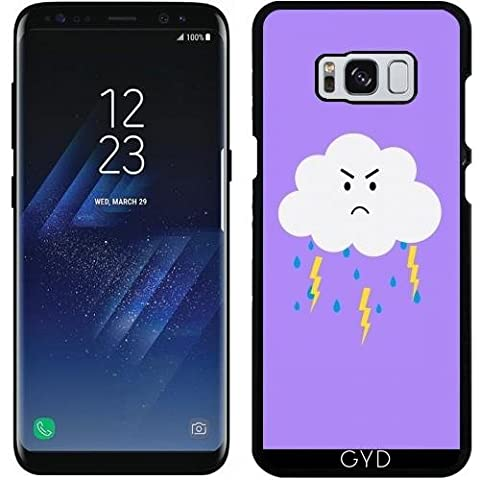 Case for Samsung Galaxy S8 - Grumpy cloud lightnings by