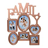 eCraftIndia Heart Shape Family Collage A...