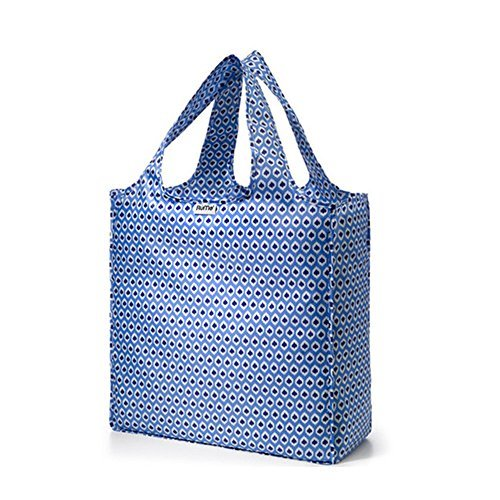 rume-bags-large-tote-reusable-grocery-shopping-bag-aqua-ikat-by-rume-bags