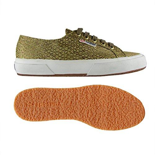 SUPERGA - Sneaker 2750 RAFIALAMEW - yellow mushroom Gold-Mushroom