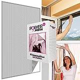 Fliegengitter für Fenster 130 x 150 cm in schwarz / anthrazit inkl. Klettband Moskitonetz 1x 2x 3x 4x 5x Sparpack individuell kürzbar Fliegennetz wetterfest & reißfest, Menge:5er Set