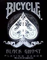 Black Ghost Deck (2nd Edition) - Bicycle Playing Cards, Poker Size