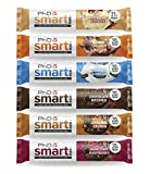 PhD Smart Protein Bar Proteinreiche Kohlenhydratarme Reigel, Varietät mit 6 Geschmacksrichtungen, 64 g, 12er Pack