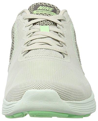 Nike Damen Wmns Revolution 3 Laufschuhe Mehrfarbig (Light Bone / Fresh Mint / Midnight Fog)