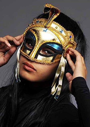 Eyemask oro de la reina egipcia Cleopatra
