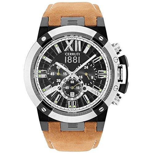 montre-homme-cerruti-1881-pragelato-bracelet-cuir-sable-chronographe-cra145stb02tn