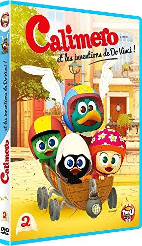 Caliméro : volume 2, Calimero et les inventions de Do Vinci ! ; Le classe malin